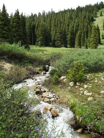 Independence Pass: Flowing streams at every turn!