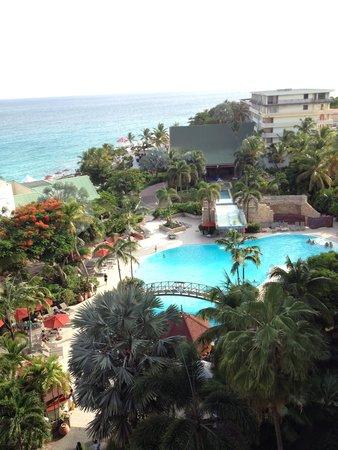 Sonesta Maho Beach Resort, Casino & Spa : Balcony View