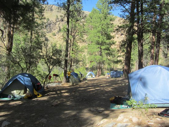 ROW Adventures - Salmon River Canyons: Great Camping Sites