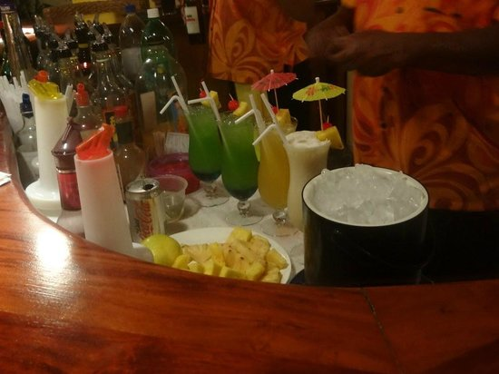 Bedarra Beach Inn: Cocktails :)