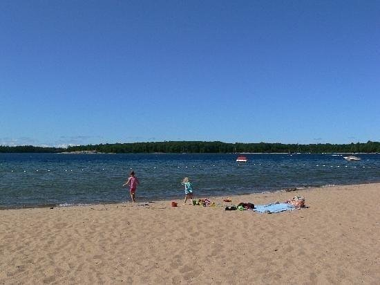 Killbear Park: Swimming area