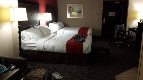 Holiday Inn Oceanside Camp Pendleton Area: Big large room