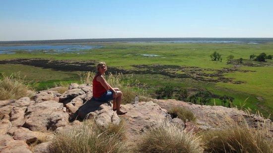 Ubirr: View across wetland
