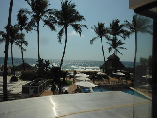 Buenaventura Grand Hotel & Great Moments All Inclusive: View from balcony
