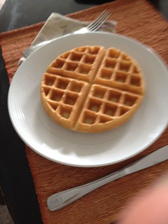 Orchid Tree Bed and Breakfast : Steve's waffels