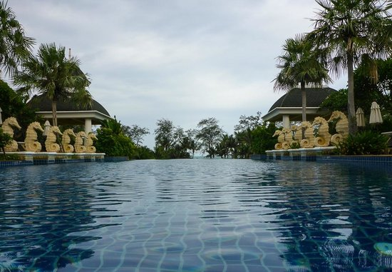 Phuket Graceland Resort & Spa: The Sky Pool on top of the roof was great