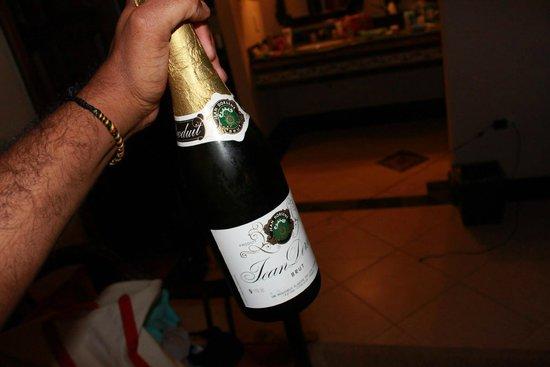 Sandals Montego Bay: champagne