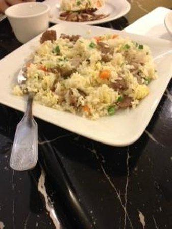 Bund Shanghai Restaurant: combo fried rice