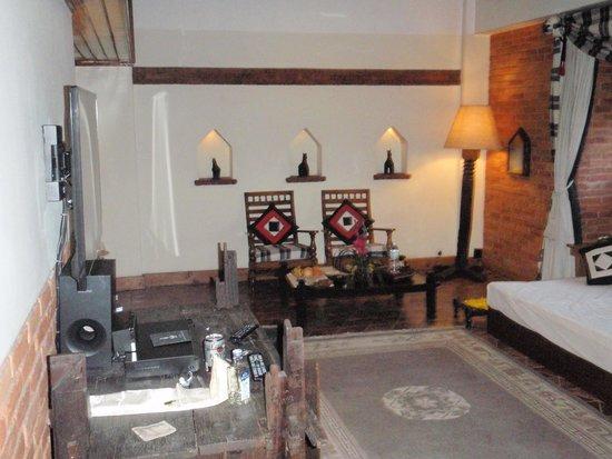 Dwarika's Hotel : Inside the suite