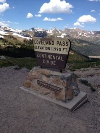 Keystone, CO: loveland pass on route 6 in rockies! so beautiful!