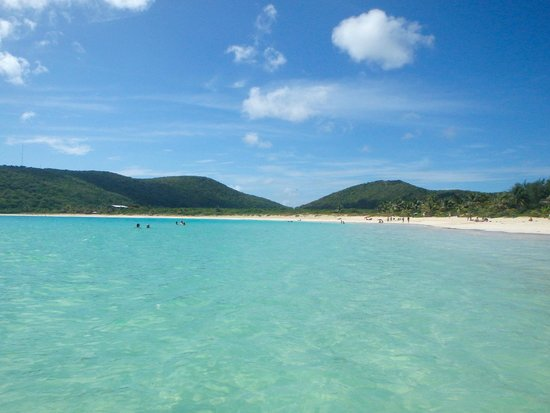 Casita Tropical: Flamenco Beach, about a 10 minute drive from Molly's