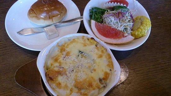 Ki no iinakama : Baked Vegetable and cheese