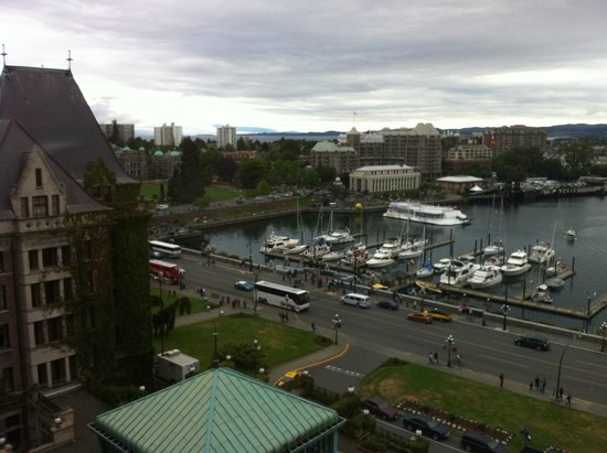 The Fairmont Empress : Room 734 view