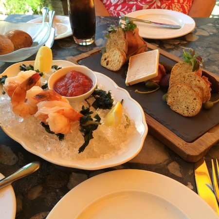Araxi Restaurant & Oyster Bar : Prawns and Charcuterie