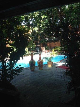 Casa Valeria Boutique Hotel: foto dalla mia stanza
