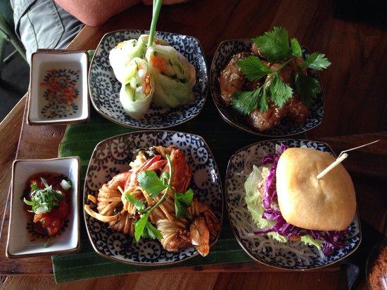 Fat Chow: Tapas plates