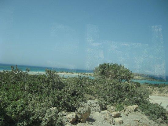 Playa de Elafonisi: vista wow