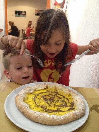 Gusto al 129: Pizza dolce - make your kids happy!
