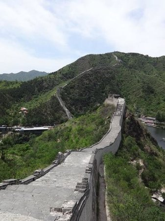 Great Wall at Huanghuacheng : unrestored part of the wall, nobody else around