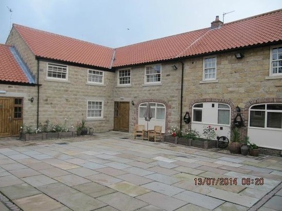 Ox Pasture Hall Hotel: The Courtyard we stayed in