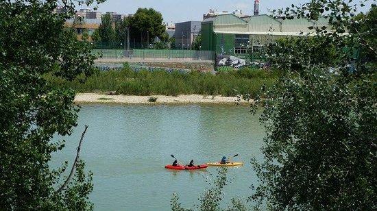 El Ebro: байдарочники