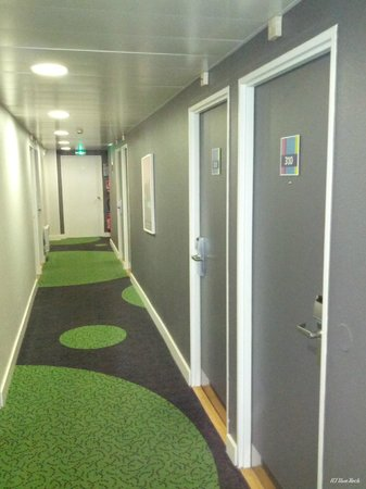 Ibis Styles Reims Centre Cathedrale: The 3. floor
