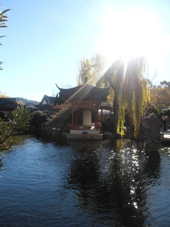 Chinese Garden of Friendship: Stunning on a sunny day