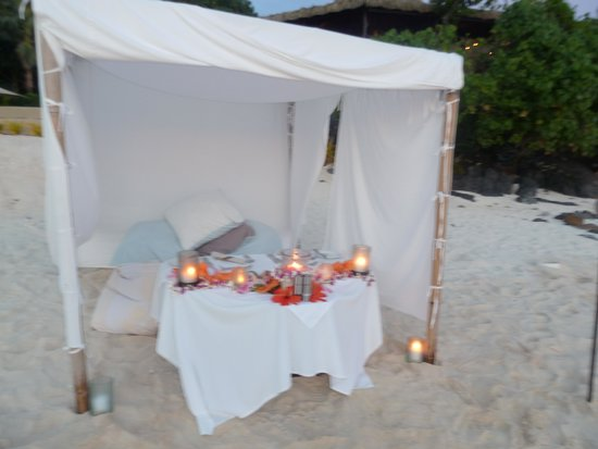Pacific Resort Aitutaki: Perfect place for a proposal