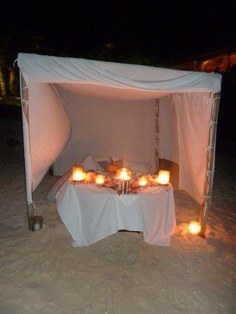 Pacific Resort Aitutaki: what a dream dining location