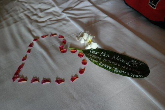 Taruna Homestay: Bed 1