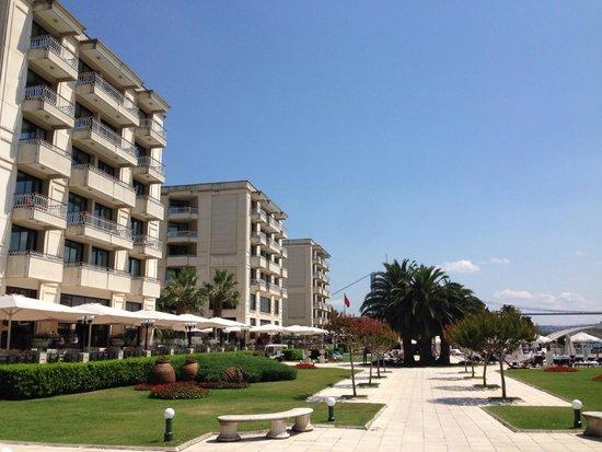 Ciragan Palace Kempinski Istanbul: Новое здание отеля (основное, 95% номеров здесь)