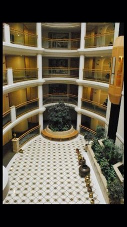 The Imperial Palace: Atrium view from 5 floor
