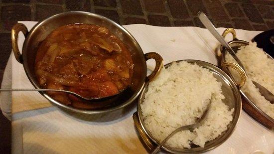 Le Petit Rajasthan : Poisson curry hmmmm