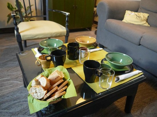 B&B Il Cielo : beautiful breakfast