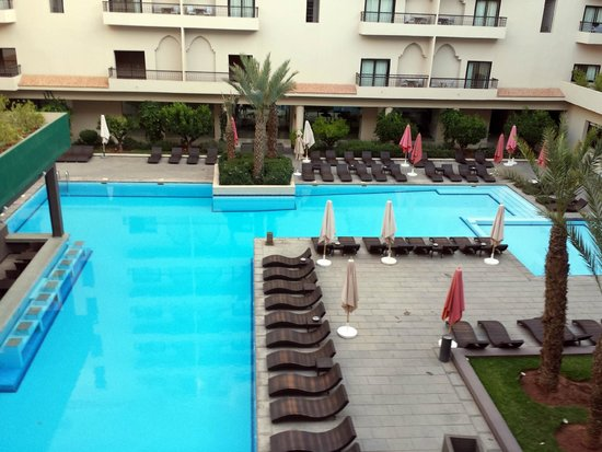 Opera Plaza Hotel : balcon