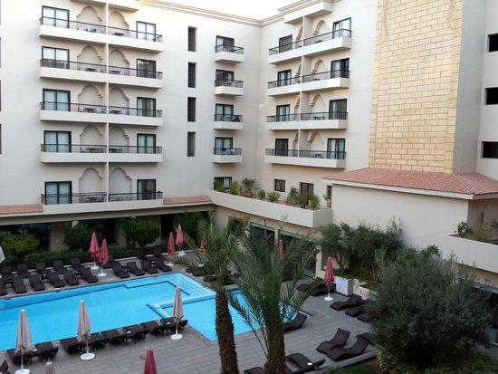 Opera Plaza Hotel: balcon 2