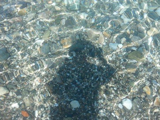 Villaggio Baia Calava: mare limpido