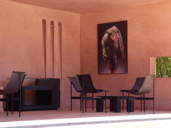 Hôtel Dar Sabra Marrakech : Bar de la piscine