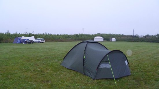 Ty Parke Farm Camping: The weather is often changeable