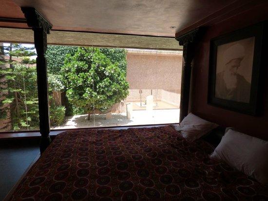 Hôtel Dar Sabra Marrakech : vue de la suite afghane