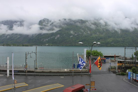 Hotel Weisses Kreuz: View from the Room's Balcony