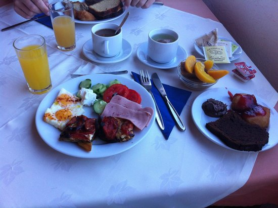 Hotel Eden Rock : Frühstück