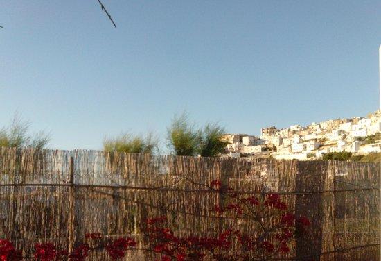 Villaggio Camping Bellariva: la vista di Peschici dalla nostra casetta