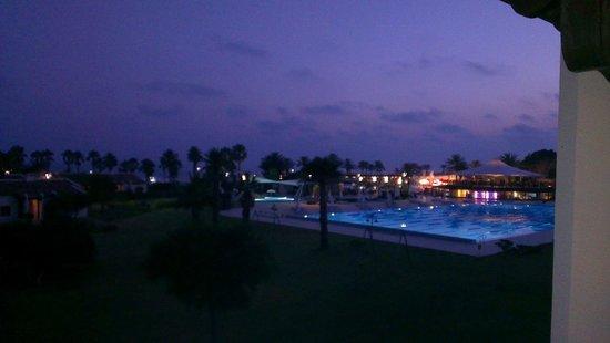 SENTIDO Zeynep Resort: Night view from our balcony