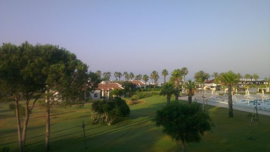 SENTIDO Zeynep Resort: View from our balcony
