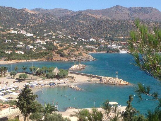 Dessole Mirabello Beach & Village : The beach