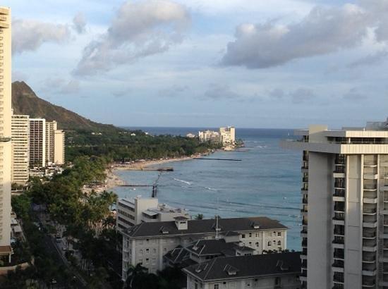 Holiday Inn Resort Waikiki Beachcomber: view from room