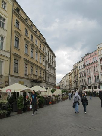 Historic Old Town: Ulica Gradzka from the central square