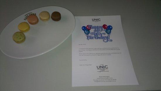 Hotel UNIC Prague: Поздравление С Днем Рождения