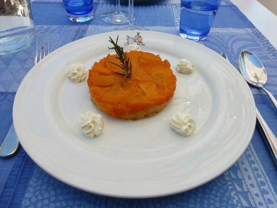Le Bistrot de Béné : Tarte fine tatin aux abricots beurre salé